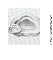 3d white clouds