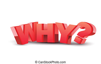 "3d, ""why"", テキスト"