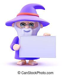 3d Wizard banner