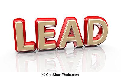 3d word lead