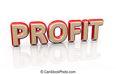 3d word profit