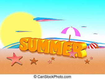 3d word summer