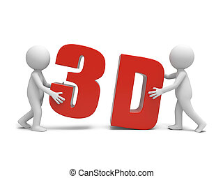 3D word