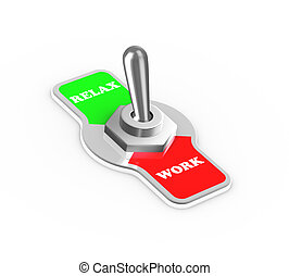 3d work relax toggle switch button