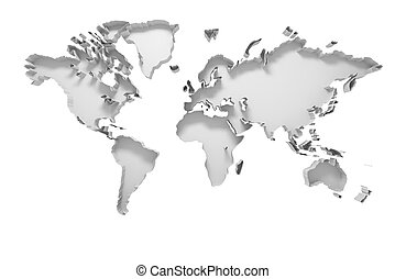 World map on 3d jigsaw puzzles world map on jigsaw puzzles in 3d 3d world map gumiabroncs Gallery
