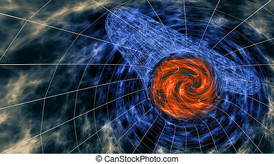 3D Wormhole abstract