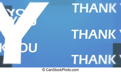 3d you animation - thank you animation