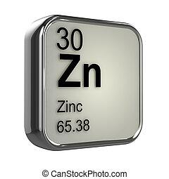 3d, zink, element