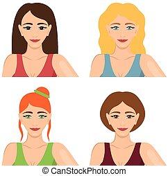 4人の女性たち