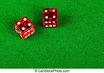 4, ダブル, 提示, さいころ, サイコロ賭博