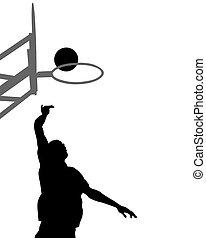 4, バスケットボール, 人