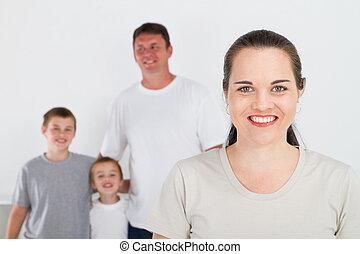 4, 家族, 幸せ