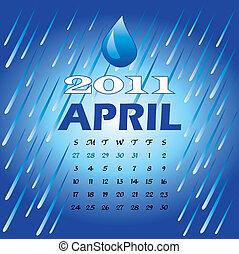 4 月, 2011