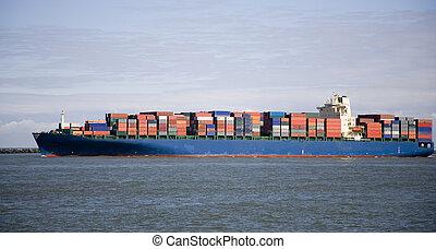 4, 船, 貨物