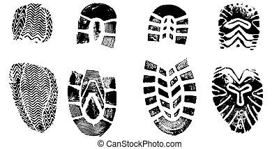 4, 靴子, 列印
