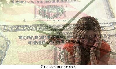 4, argent, soucis