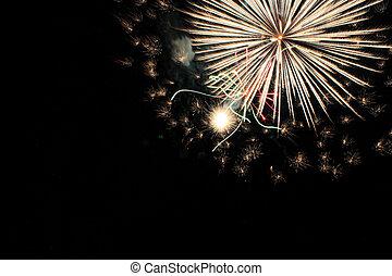 4 av juli, fireworks