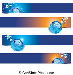 4 banner backgrounds