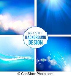 Bright Background Set