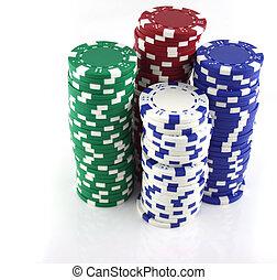 4, c, kasino, stapel