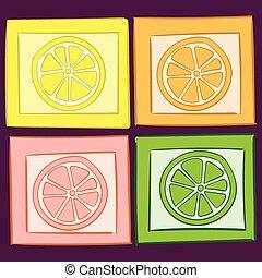 4, citruses