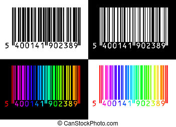4, collection, barcodes
