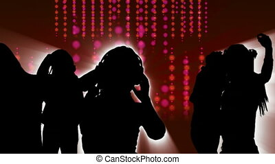 4, danse, animation