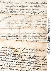 4 manuscripts of the 1700/1800 century