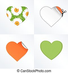 Hearts In Different Kinds