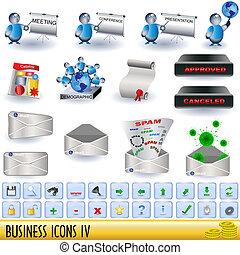 4, iconos del negocio