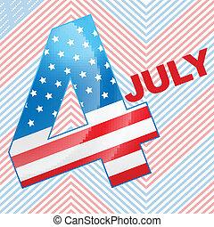 4 juillet, conception