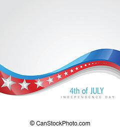 4 julio, día, independencia