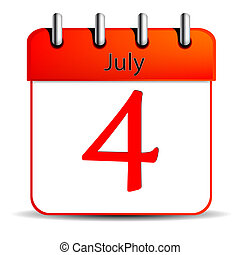 4 july calendar