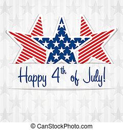 4., july!, glücklich