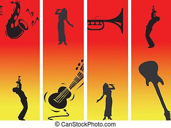 4, música, pasión