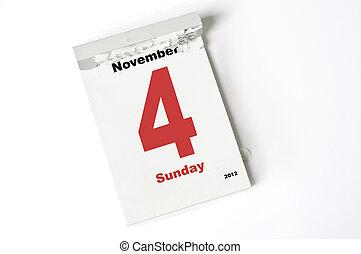 4., november, 2012