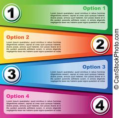 4, options, задний план