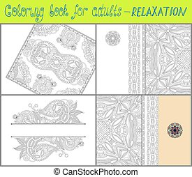 unique coloring book for adults