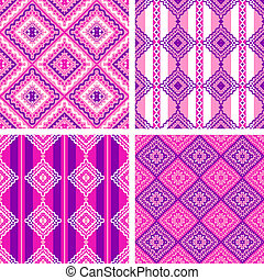 4 pattern set