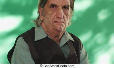 4 People Emotions Sad Worried Depressed Hispanic Man From Cuba