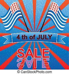 4 th of july sale
