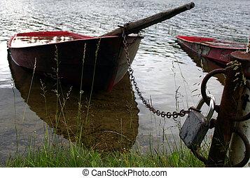 [4], verrouillé, bateau