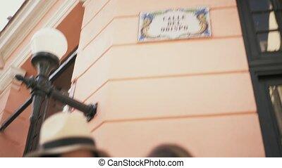 4-Women Travelling In Havana Cuba Reading Map In Calle Obispo