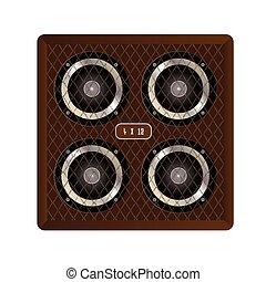 4 X 12 Guitar Amplifier Cabinet