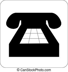 40-50, biały, telefon, s., czarnoskóry, ilustracja, stary,...