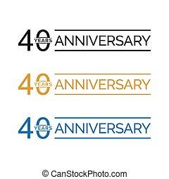 40 anniversary years