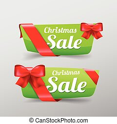 40 Collection of Christmas web tag banner for promotion sale and discount vector illustration