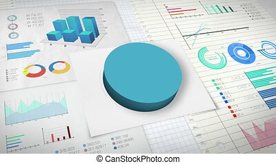 40 percent Pie chart - percent Pie chart with various...