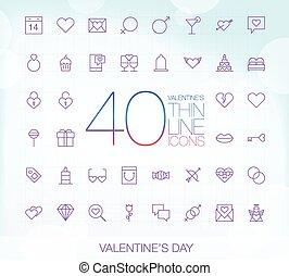 40 Trendy Thin Icons Valentines