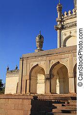 400 year old Historic Qutub Shahi tombs in Hyderabad, India